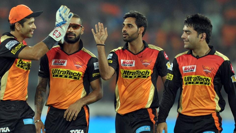 Bhuvneshwar Kumar's incredible figures of 5/19 helped Sunrisers Hyderabad beat Kings XI Punjab by five runs in a tight encounter in IPL 2017.