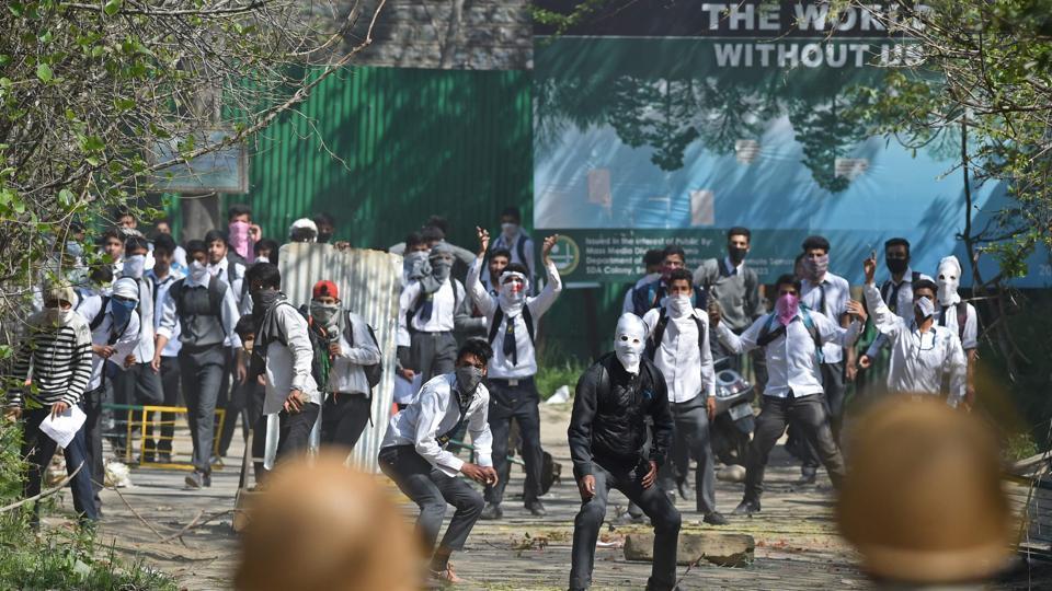 Kashmir,Plastic bullets,Security forces