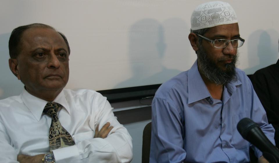 A file photo of IRF head Zakir Naik.