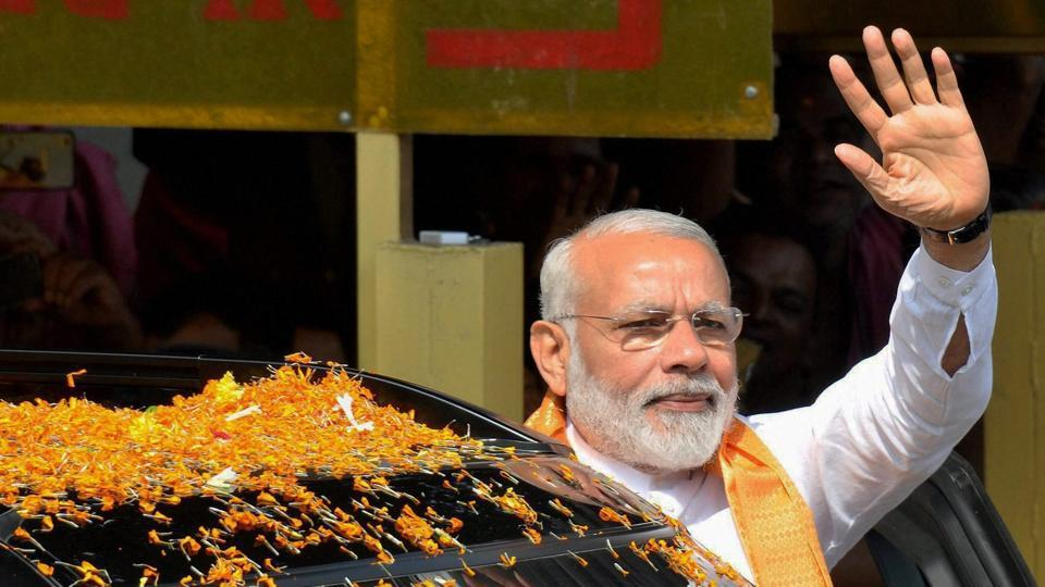 Prime minister Narendra Modi was in Bhubaneswar for the two-day BJPnational executive meet.