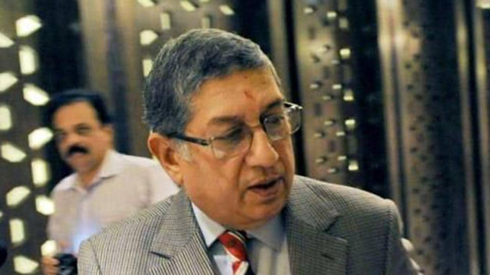 The Supreme Court said that since N Srinivasan has been found guilty of conflict of interest, he cannot be allowed to represent BCCI in the ICC meet.