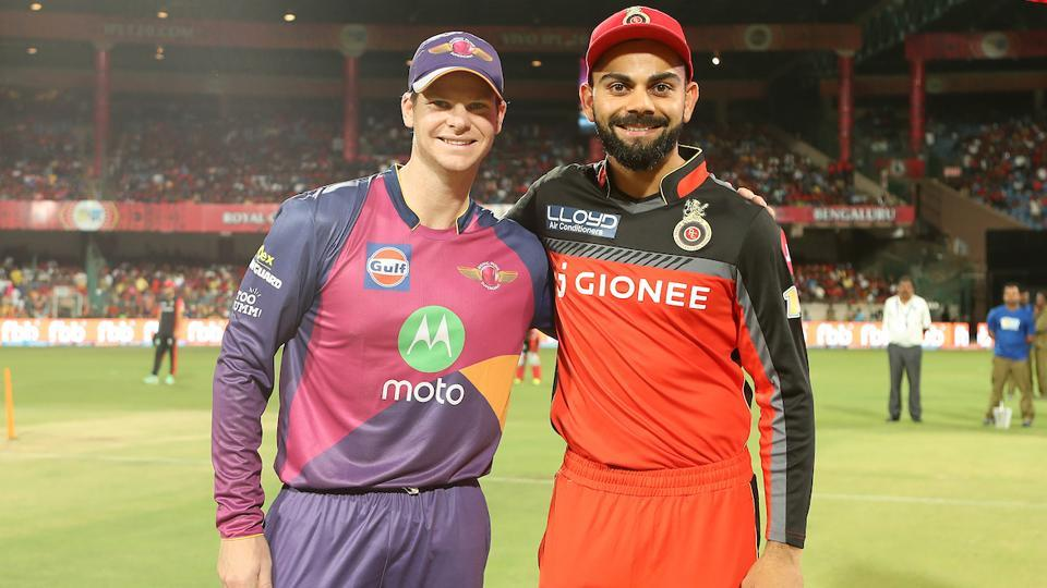 Royal Challengers Bangalore captain Virat Kohli  won the toss and elected to field vs Steve Smith-led Rising Pune Supergiant . (BCCI)