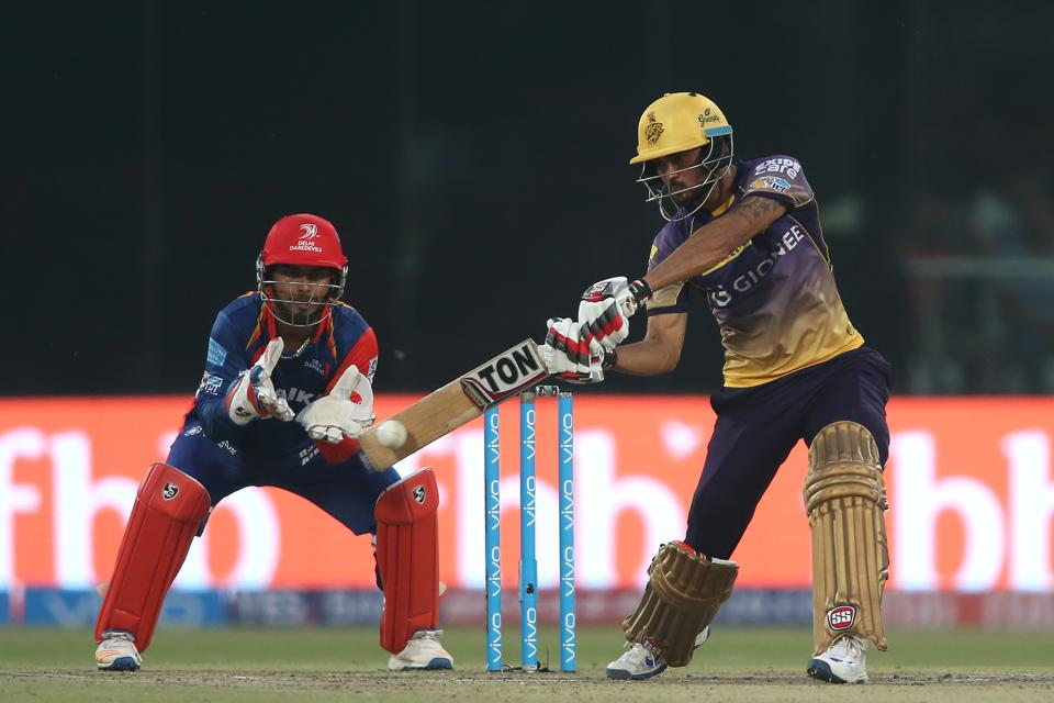 Manish Pandey too played a composed knock, but was left with all to do when KKR need eight runs off the last three balls. (BCCI)