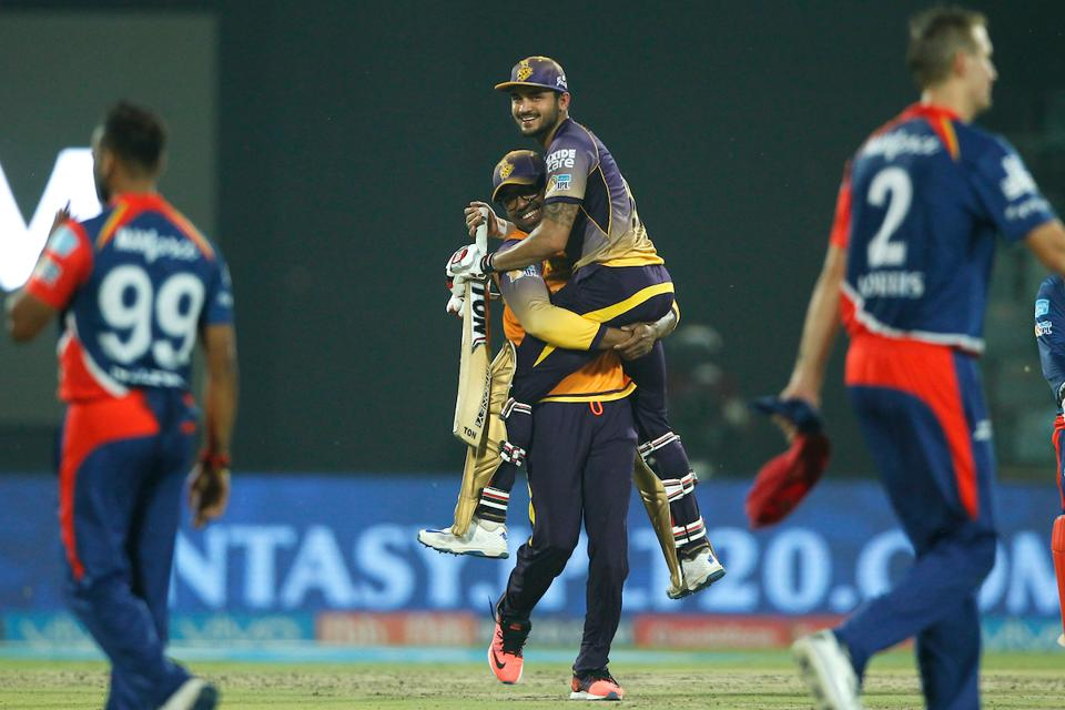 Pandey, however, kept his calm, and scored a six and a couple of runs from the next two balls to seal a four-wicket win for KKR with one ball to spare. (BCCI)