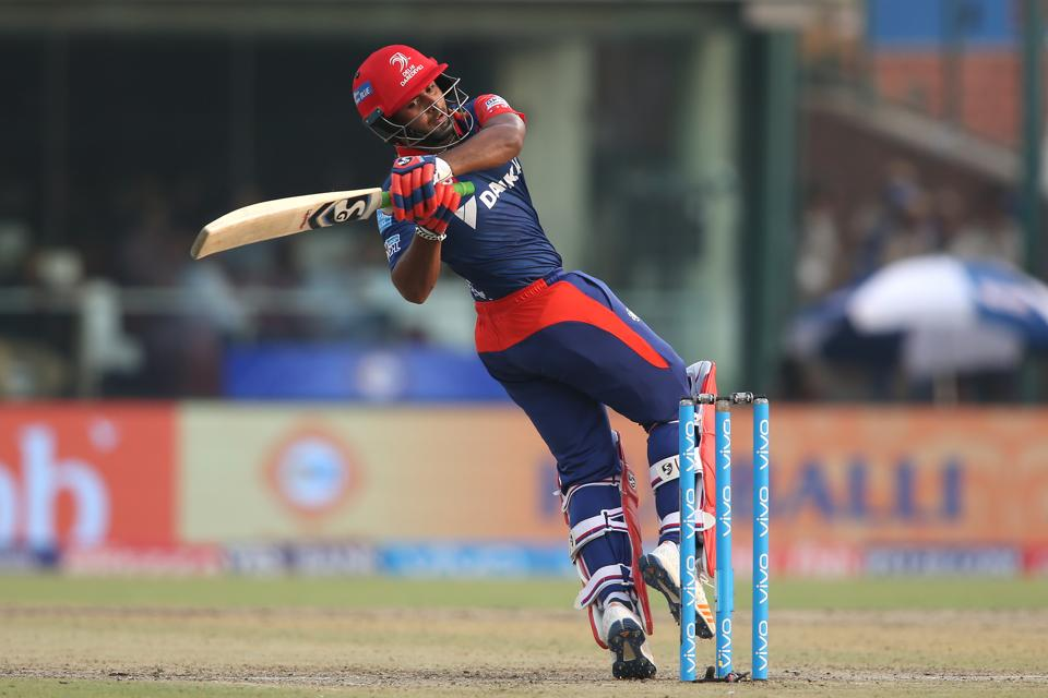 Rishabh Pant's quickfire 38 helped Delhi Daredevils speed up their innings towards the end. (BCCI)