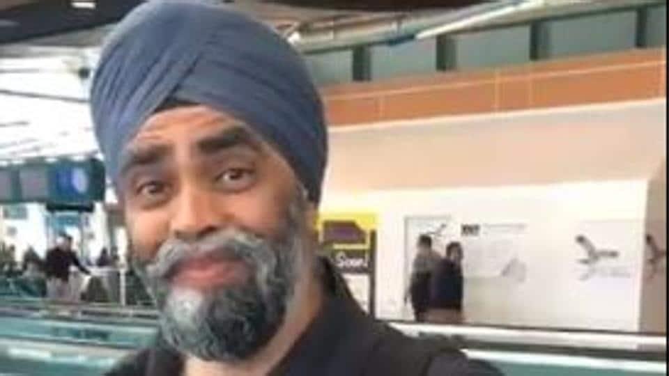 Harjit Singh Sajjan, Canada's minister of national defence.