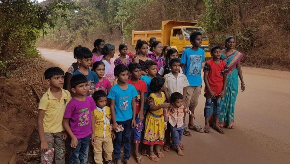 Family members of the arrested Sonshi villagers have no clue how to secure their release.