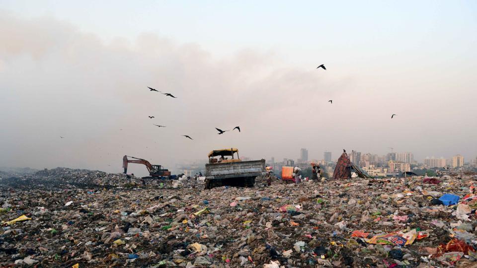 Adharwadi dump yard,Kalyan Dombivli Municipal Corporation,air pollution
