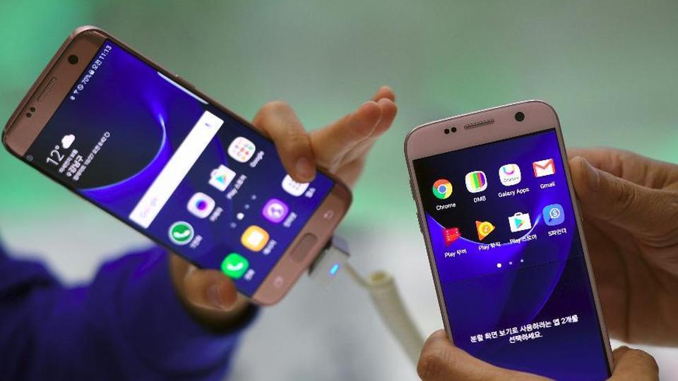 Samsung Galaxy S8,Samsung Galaxy S8+,red tinted screens