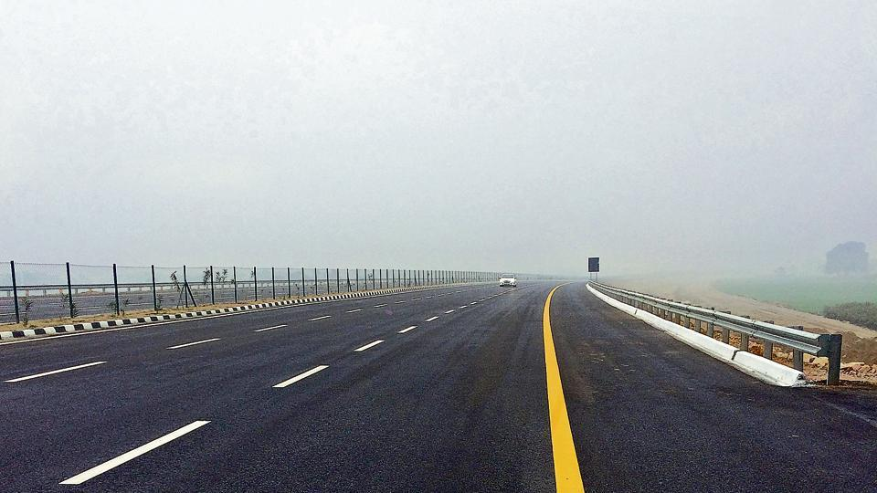 Agra-Lucknow expressway.