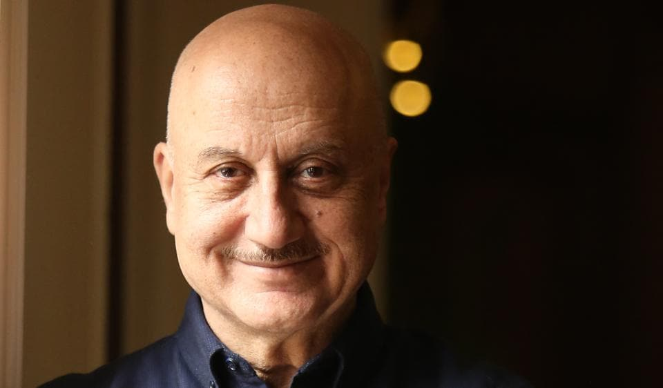 Social media platforms help Anupam Kher to talk about his achievements and work schedules.