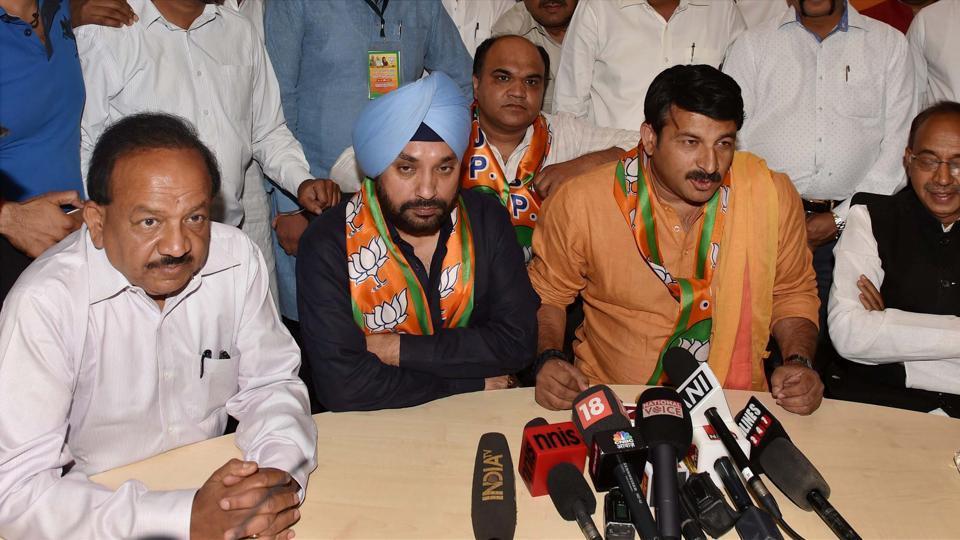 Former DPCC president Arvinder Singh Lovely joined the BJP on Tuesday.