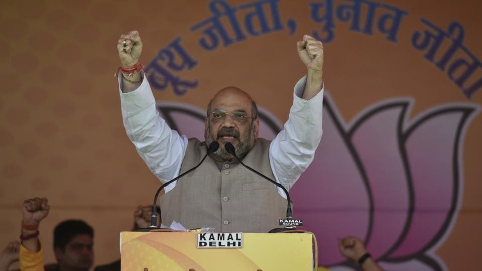 BJP national president Amit Shah has sought to galvanise the party cadre ahead of the 2019 general elections and better its 2014 tally in the Lok Sabha, where the BJP has the brute strength of 282 parliamentarians.