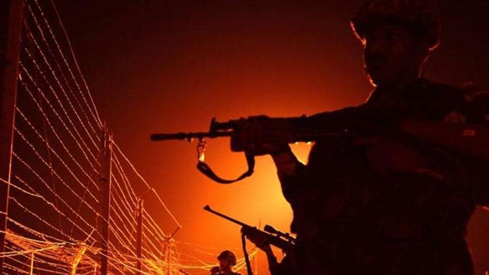 Defence spokesman Lt Colonel Manish Mehta denied that there was any firing from the Pakistani side.