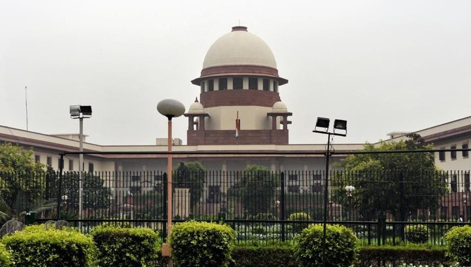 A view of the Supreme Court building in New Delhi.