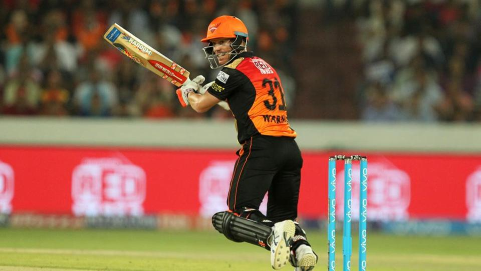 David Warner however continued to play his game, compiling a crucial unbeaten 70.  (BCCI)