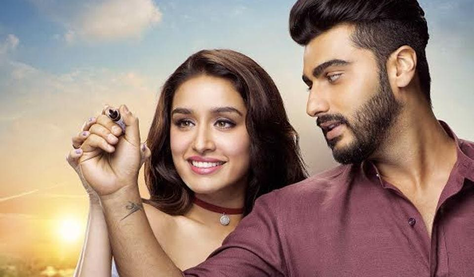 Arjun Kapoor and Shraddha Kapoor in a still from Phir Bhi Tumko Chahunga, the latest song from Half Girlfriend.