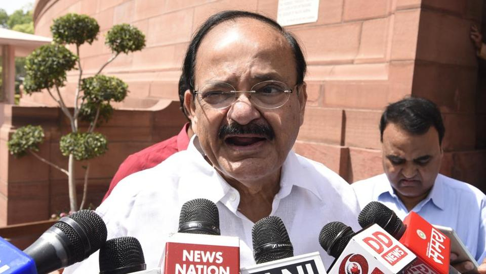 "Union minister Venkaiah Naidu said the NDA government's objective is to provide electricity to over 18,000 villages ""still living in the dark"" across the country."