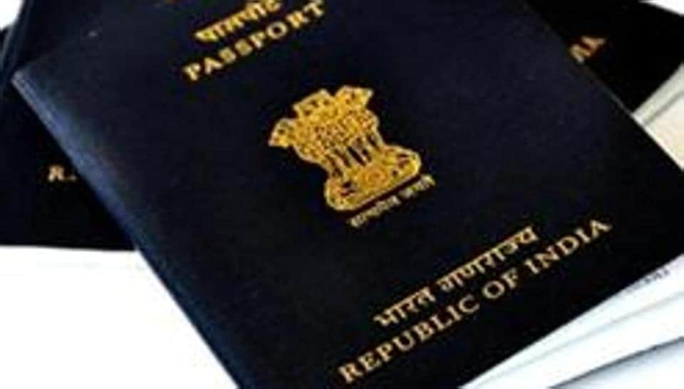 A file photo of Indian passports.