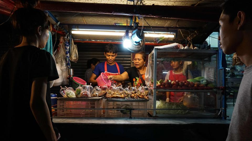 Bangkok,Street food,Clean-up drive