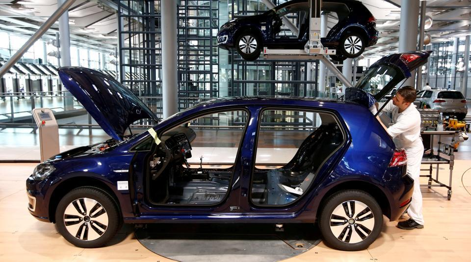 Volkswagen,VW electric car,VOlkswagen China