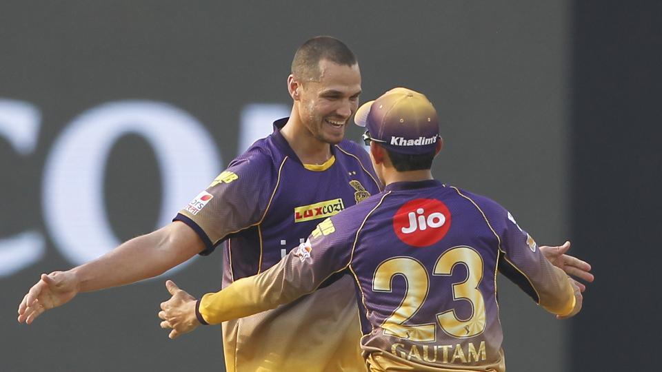 Nathan Coulter-Nile took three wickets in his first IPL 2017 game for Kolkata Knight Riders against his former team Delhi Daredevils.