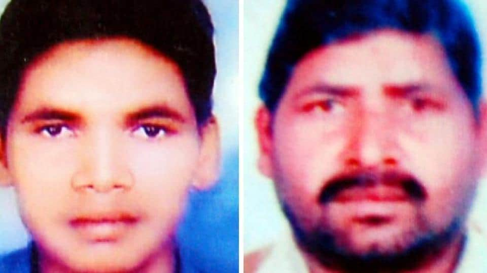 Bittu Kumar and his father Lal Chand, the victims
