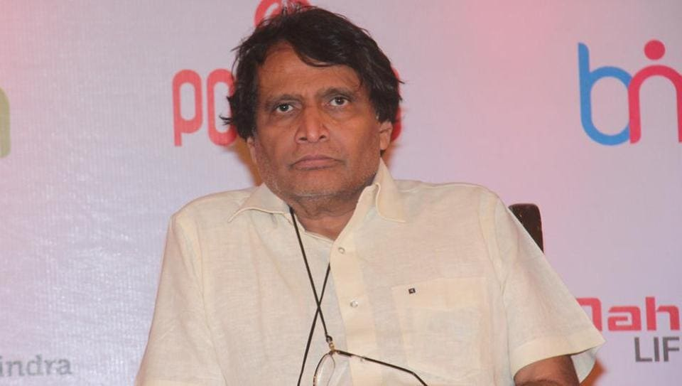 Railway minister Suresh Prabhu approved the plan of a joint venture to rehabilitate 12 lakh people on 78 hectares