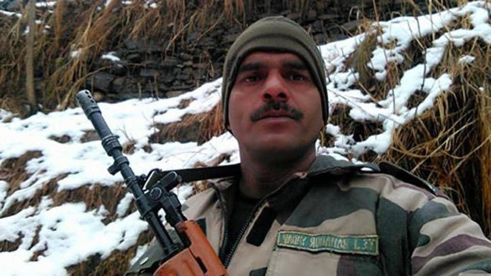 BSF jawan Tej Bahadur Yadav.