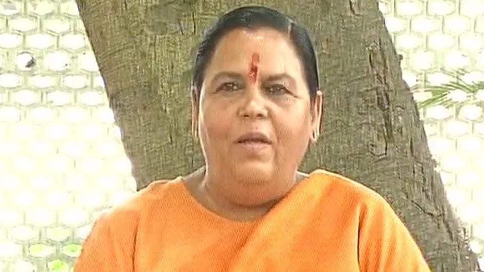 Uma Bharti cancels her Ayodhya visit