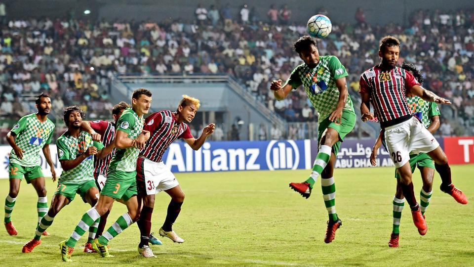 Maziya S&RC,Mohun Bagan A.C.,2017 AFC Cup