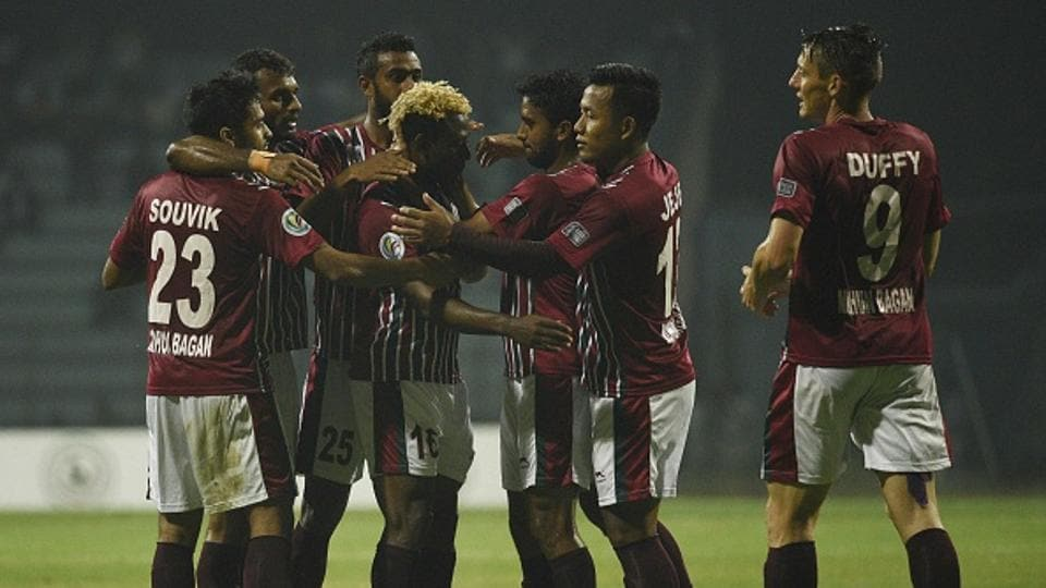 Mohun Bagan face Maldives' Maziya S&RC in an AFCCup fixture in Kolkata on Wednesday.