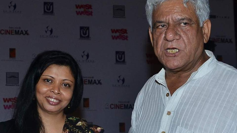 Nandita Puri, wife of late Om Puri, says that the ghost video doing the rounds is scripted and she knows the people who are behind it.