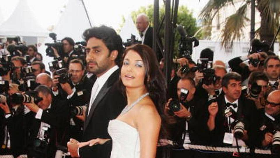 Abhishek made his debut at the Cannes red carpet with his wife in 2007, where their film Guru was screened. (Getty Images)