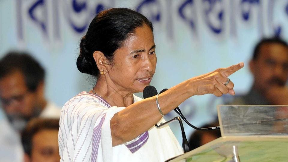 "Mamata Banerjee blamed ""one section of religious group, belonging to a political party ruling at the Centre and also their sister organizations"" but did not name any party, or body."