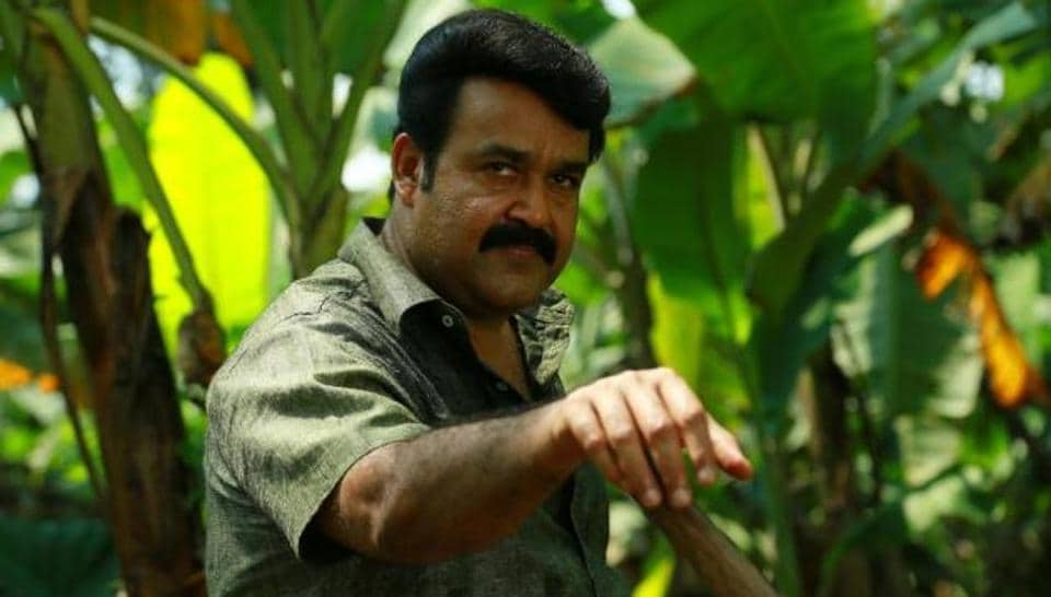 Mohanlal in a still from Drishyam.