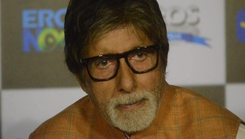 Amitabh Bachchan during the trailer launch of his upcoming film Sarkar 3 in Mumbai on March 1, 2017.