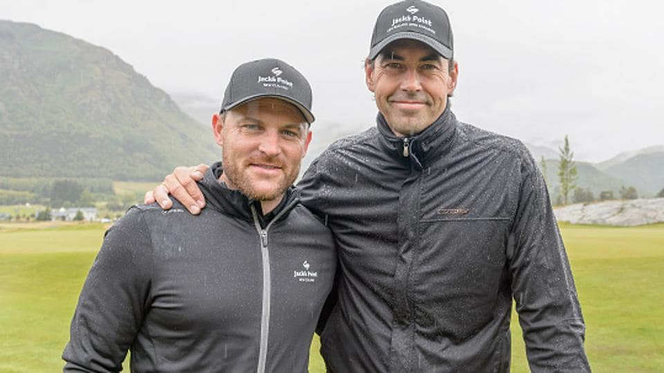 Stephen Fleming, who is the coach of the Indian Premier League (IPL) team Rising Pune Supergiant and Brendon McCullum (left) are very popular in India through their exploits on the cricket field.