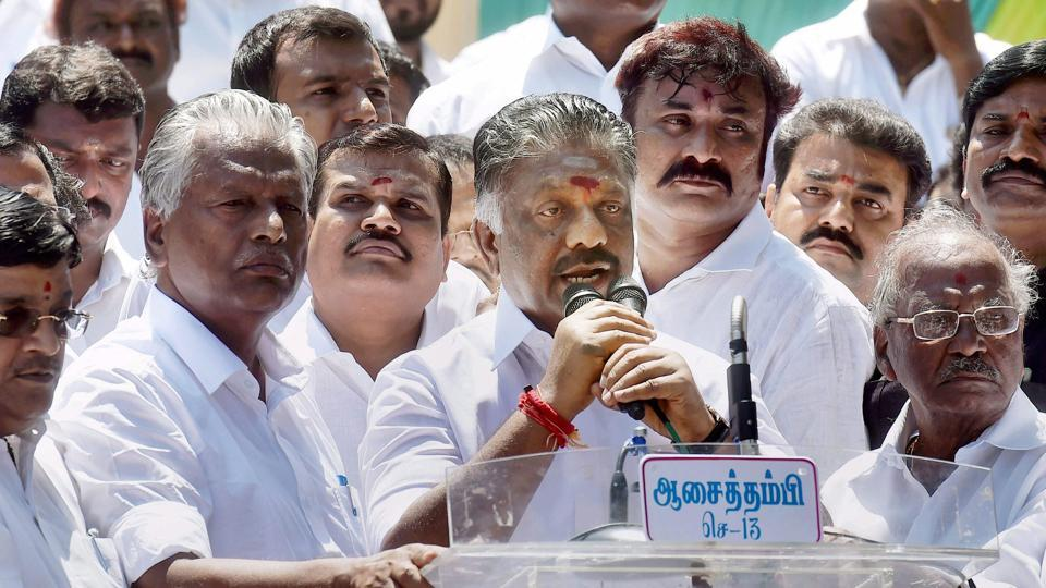 Former Tamil Nadu chief minister O Panneerselvam (OPS) has been insisting that no one from the Sasikala family should have anything to do with the party affairs.