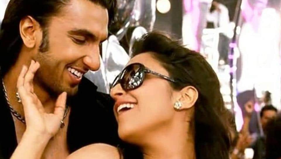 Ranveer Singh and Parineeti Chopra in a still from Jigar Da Tukda, a song from Ladies Vs Ricky Bahl.