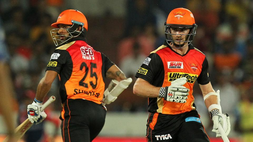 Shikhar Dhawan and Kane Williamson both scored half-centuries for Sunrisers Hyderabad against Delhi Daredevils in an Indian Premier League (IPL) 2017 match.