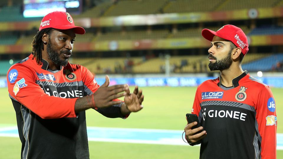 Chris Gayle and Virat Kohli put on a 100-run stand for the 10th time in IPL.  (BCCI )