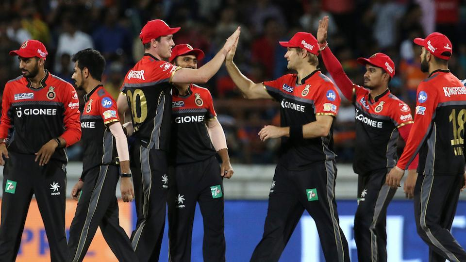 Royal Challengers Bangalore eventually held on to seal a 21-run win, their second victory in six matches in IPL 2017. (BCCI)