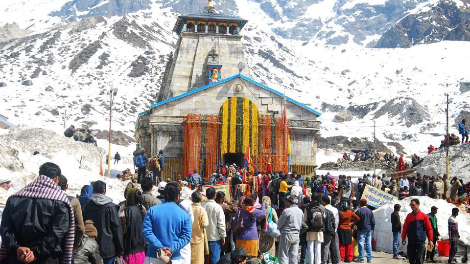 Helipad at Sersa is 12 kms from Kedarnath shrine.