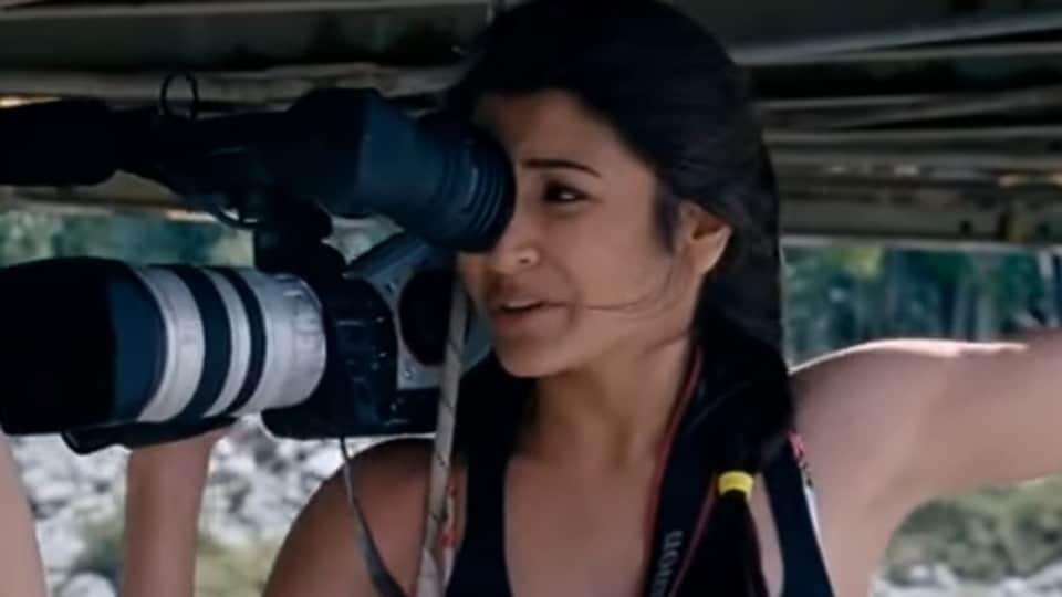 Anushka Sharma in a still from Jab Tak Hai Jaan.