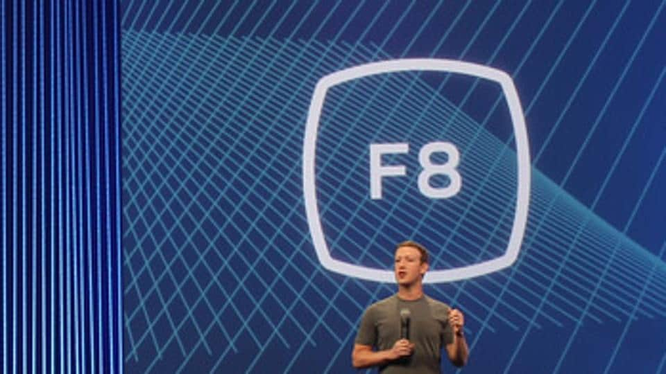 Facebook CEO and founder Mark Zuckerberg speaks at the ninth edition of Facebook F8 conference last year.