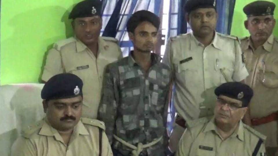 The alleged killer of Forbesganj businessman in police custody.