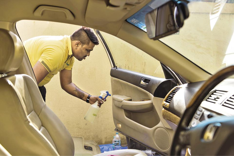 Refreshed is cleaning start-up that provides process-driven, professional car cleaning services