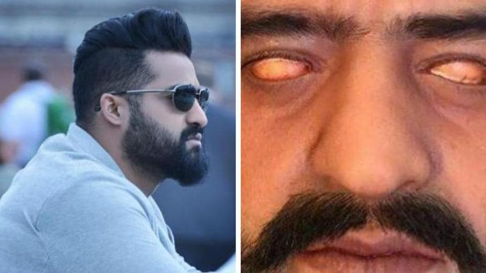 A trail picture of Jr NTR from the film has already gone viral. The actor will appear in three different roles, one of them being that of the antagonist.