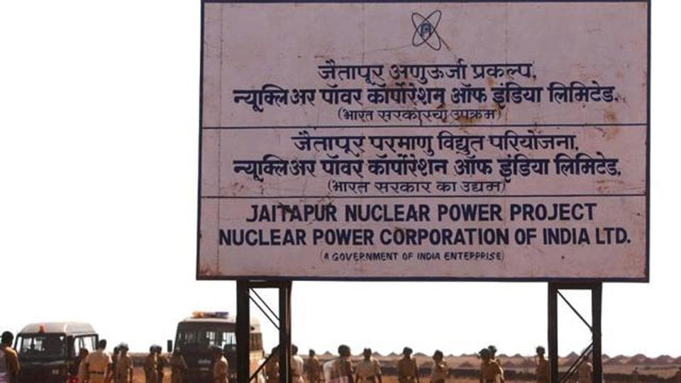 The Jaitapur plant is expected to be the largest nuclear power plant in the world.